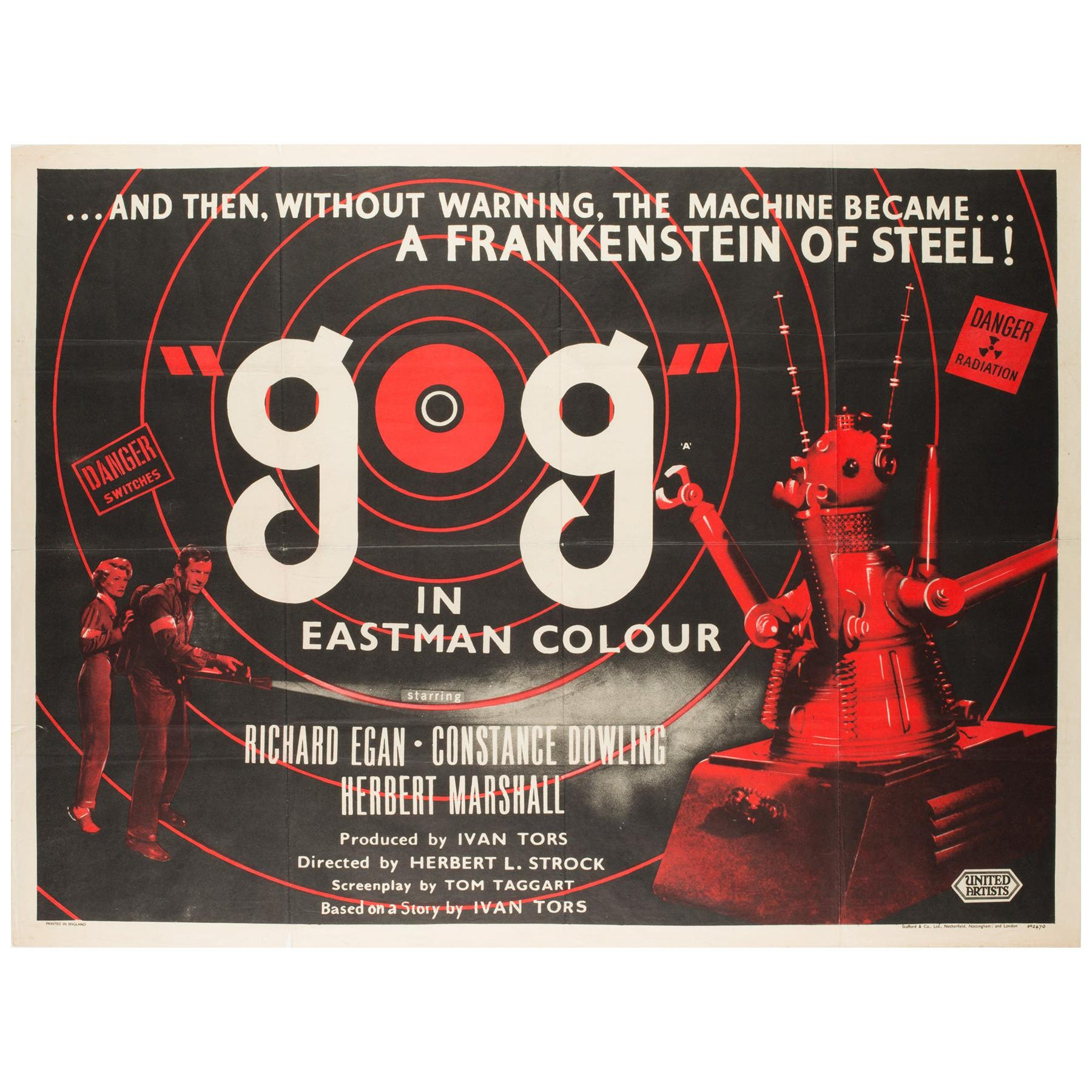 GOG UK Film, Movie Poster, 1954