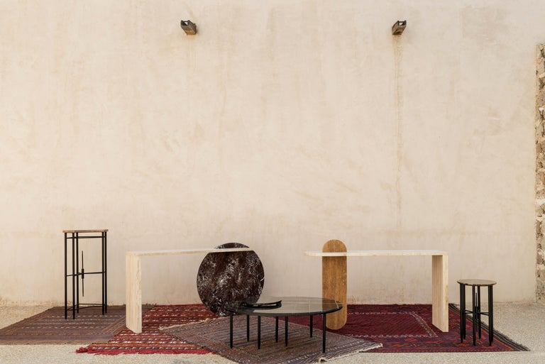 Contemporary Gol. 002 Marble Table by Chapter 101 For Sale