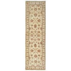 Gold Afghan Rugs Runner, Persian Rug Designs Zieglar Style, Oriental Runner