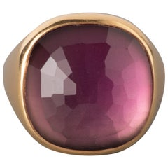 Gold and Amethyst Pomellato Ring