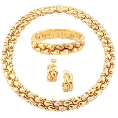 Gold and Diamond 'Casmir' Parure by Chopard