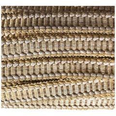 Gold and Green Woven Gimp Decorative Trim