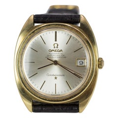 Gold and Steel Constellation Omega Automatic Chronometer Wristwatch, 1960s