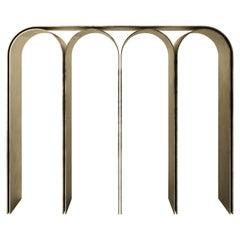 Gold Arch Console by Pietro Franceschini