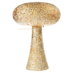 Gold Blossom, by Marcel Wanders, Crocheted Lamp, 2010, Gold, Edition #2/5