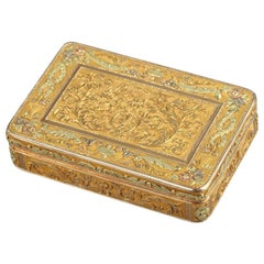 Gold Box, Early 19th Century, Restauration