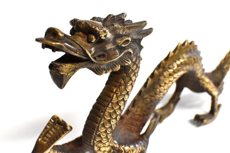 Gold Bronze Dragon For Sale 5