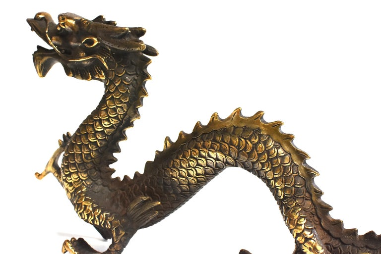 Gold Bronze Dragon For Sale 7