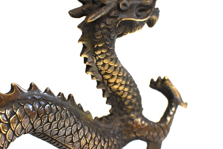 Gold Bronze Dragon For Sale 9
