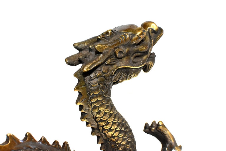 Gold Bronze Dragon For Sale 10