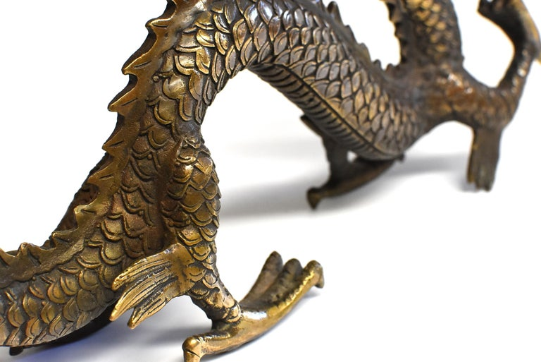 Gold Bronze Dragon For Sale 11