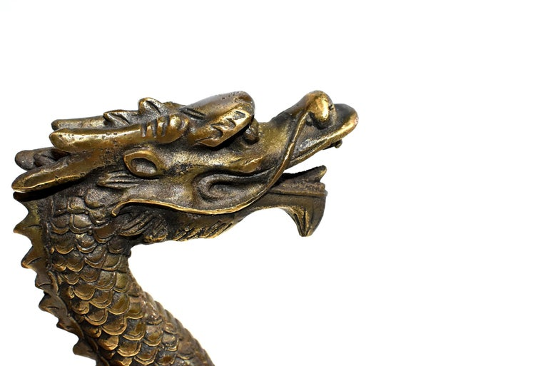 Gold Bronze Dragon For Sale 12