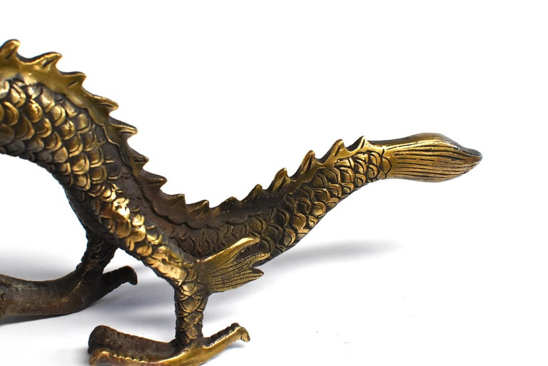 Gold Bronze Dragon For Sale 1
