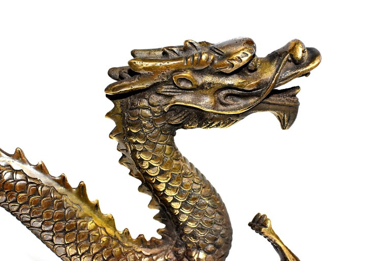 Gold Bronze Dragon For Sale 2