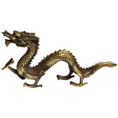 Gold Bronze Dragon