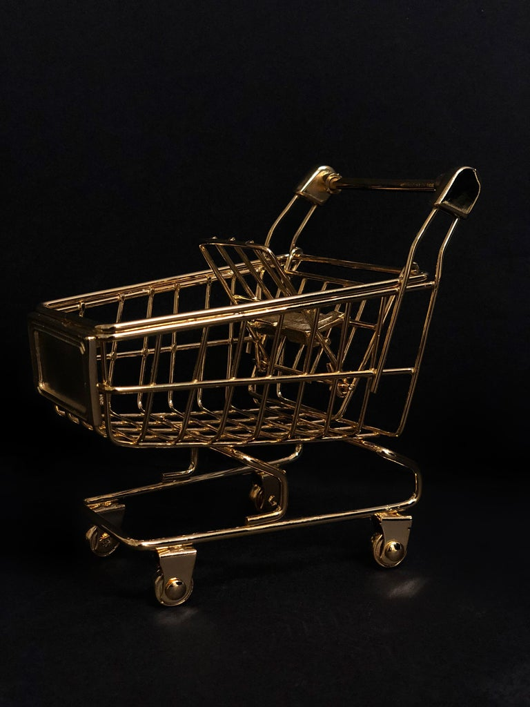 American 'Gold Cart' 18 Karat Gold, Limited Edition of 25 For Sale