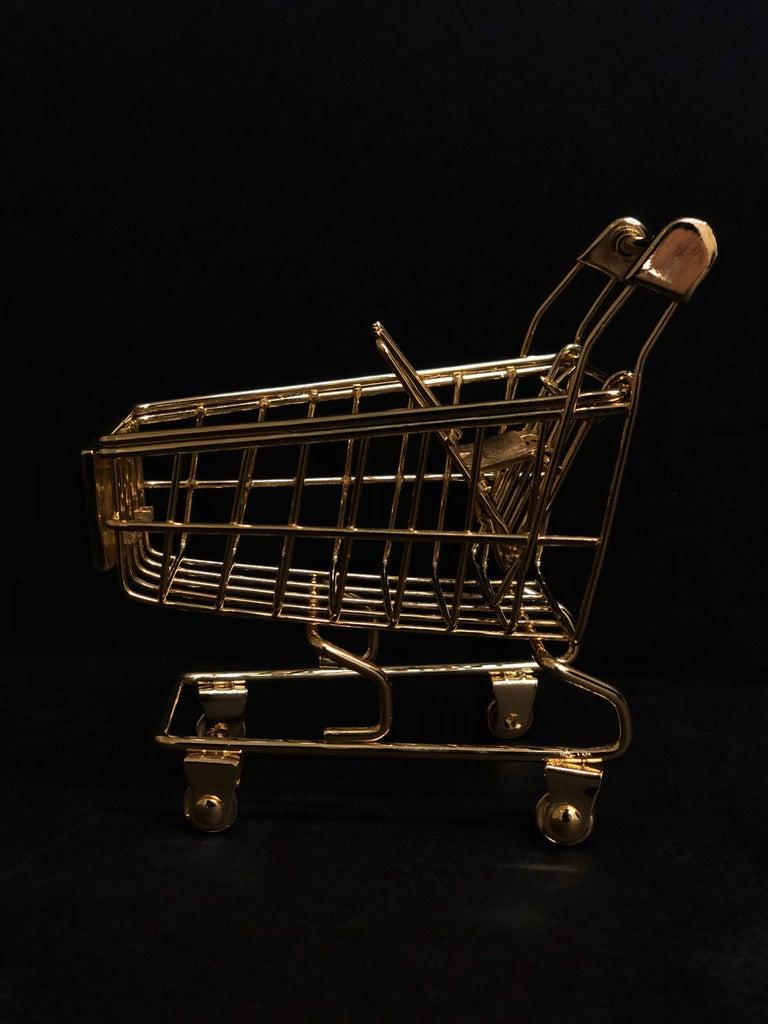 Post-Modern 'Gold Cart' 18 Karat Gold, Limited Edition of 25 For Sale