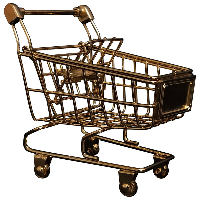 'Gold Cart' 18 Karat Gold, Limited Edition of 25 For Sale