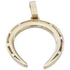 Gold Cartier Horseshoe Charm