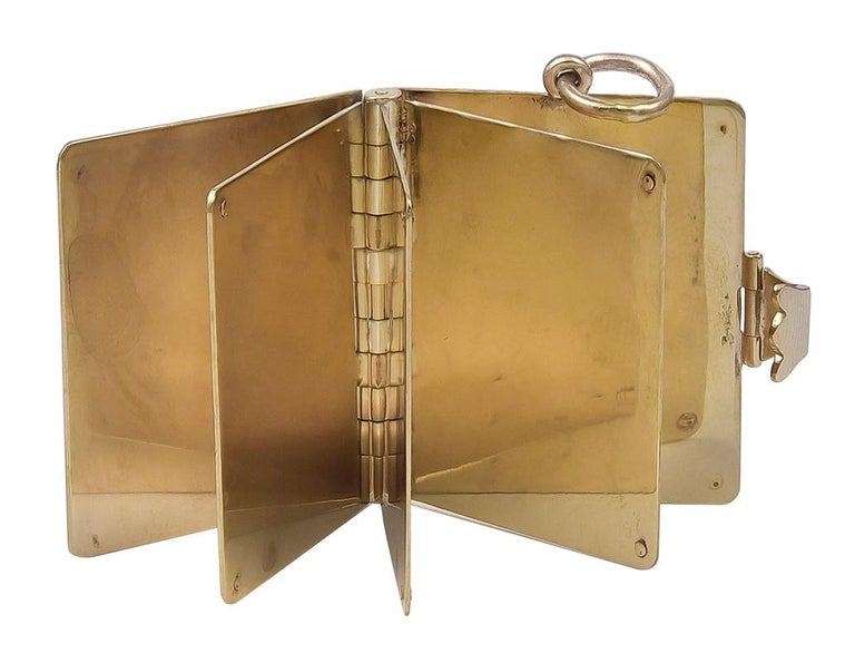 Gold Cartier Locket 2