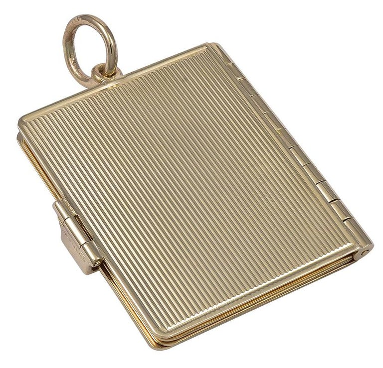 Gold Cartier Locket 3