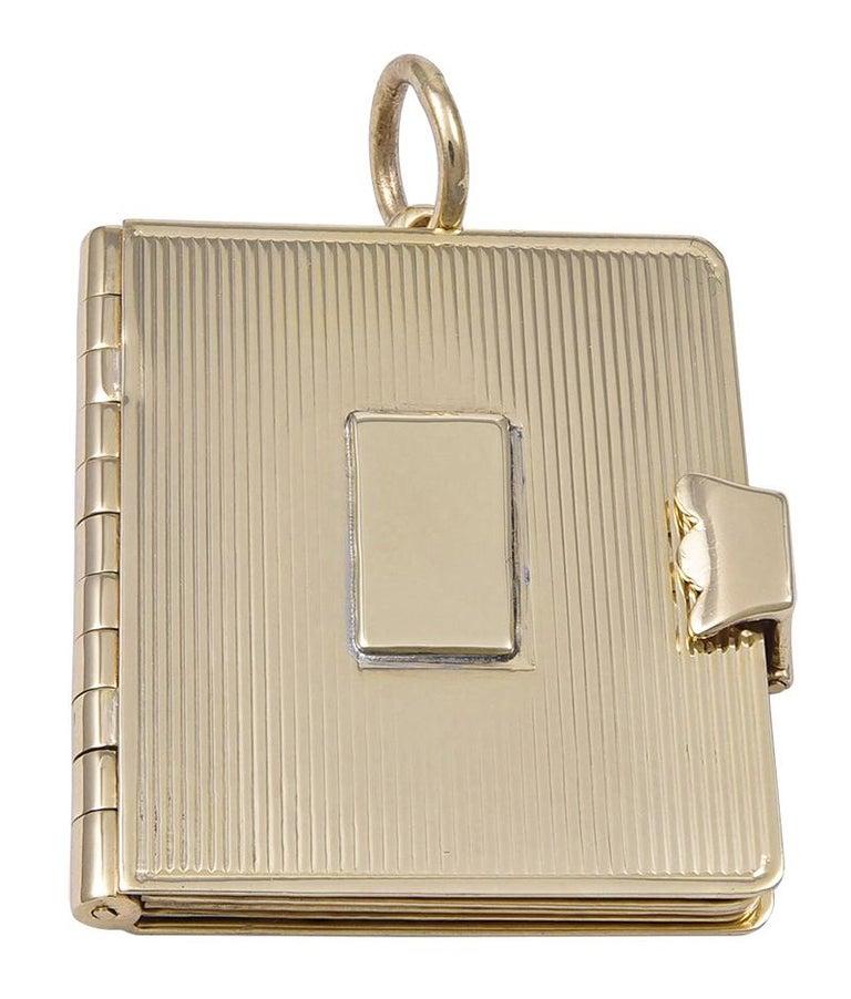 Gold Cartier Locket 4
