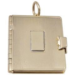 Gold Cartier Locket
