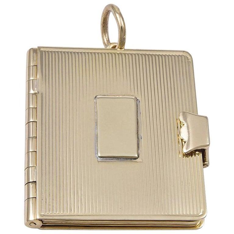 Gold Cartier Locket 1
