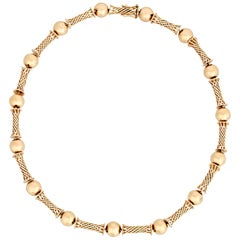 Gold Collar Necklace by Cartier