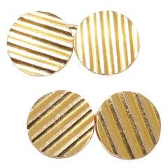 Gold Cufflinks, circa 1965