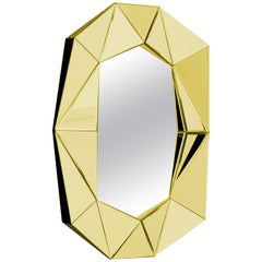 Gold Decorative Mirror