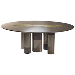 Gold Forest Contemporary Dining table by Luísa Peixoto