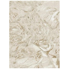 Gold Forest - Modern Luxury Hand Knotted Wool Bamboo Silk Rug