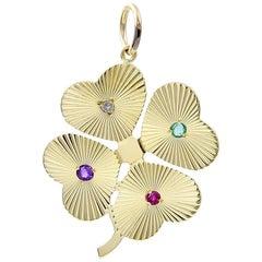 Gold Gemset Dear Valentine Charm