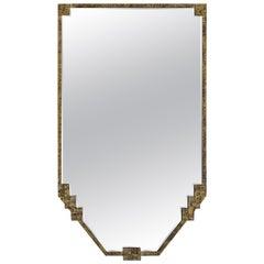 Gold Gilt Metal Framed with Original Mirror, France, 1930s
