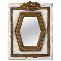Gold Gilt Rectangular Mirror by Bob Christian