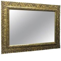 Gold Gilt Rectangular Mirror