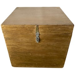 Gold Gilt Trunk or Box Table