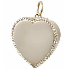 Gold Heart Six-Picture Locket