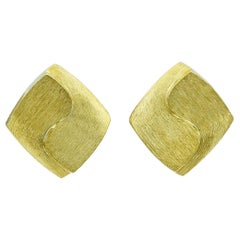 Gold Henry Dunay Ear Clips