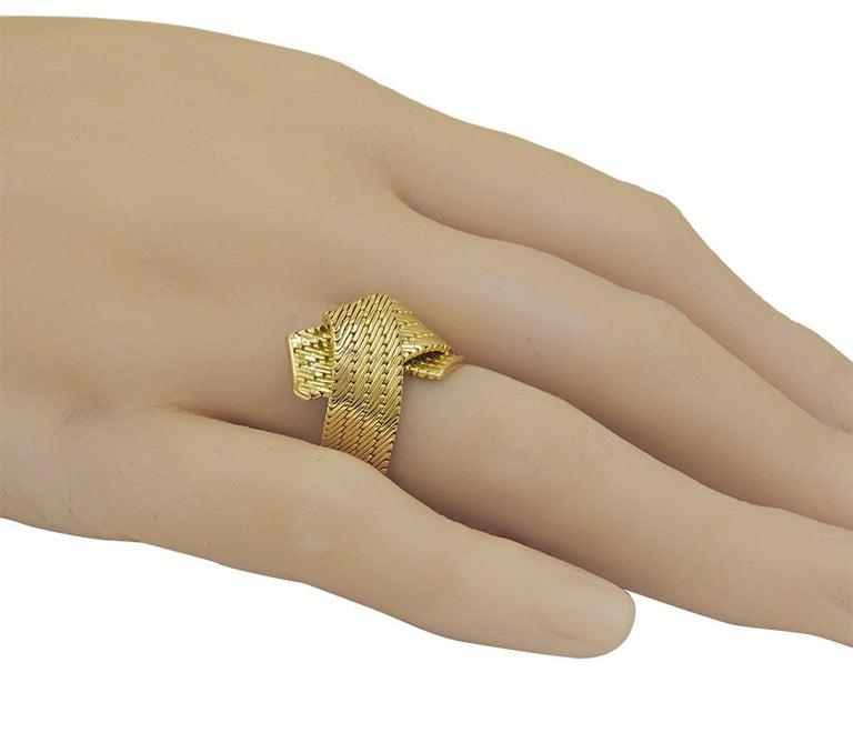Gold Hermes Ring For Sale 2