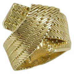 Gold Hermes Ring