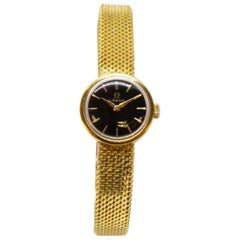 Gold Lady's Omega 1966 Wristwatch