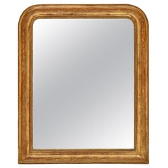 Gold Leaf Louis Philippe Period Mirror