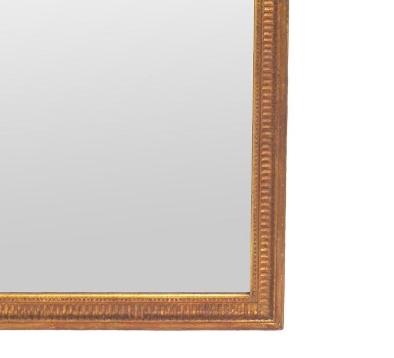 American Gold Leaf Mirror circa 1950s For Sale
