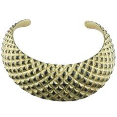 Gold Leaf Wood Necklace
