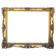 Gold Leafed French Picture Frame