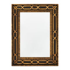 Gold Leafed Midcentury French Mirror