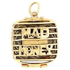 Gold Mad Money Charm