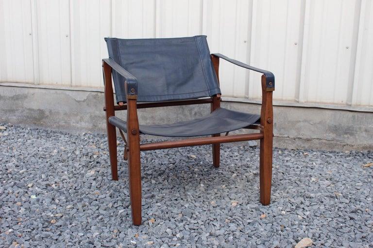 Mid-Century Modern Gold Medal Safari Chair For Sale